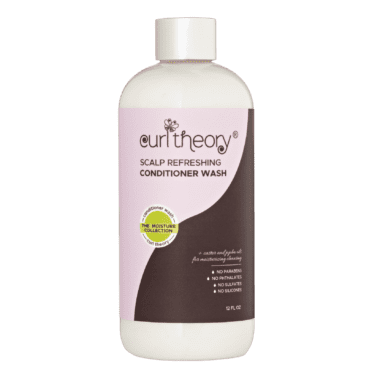 Curl Theory Moisture Collection Scalp-Refreshing Conditioner Wash