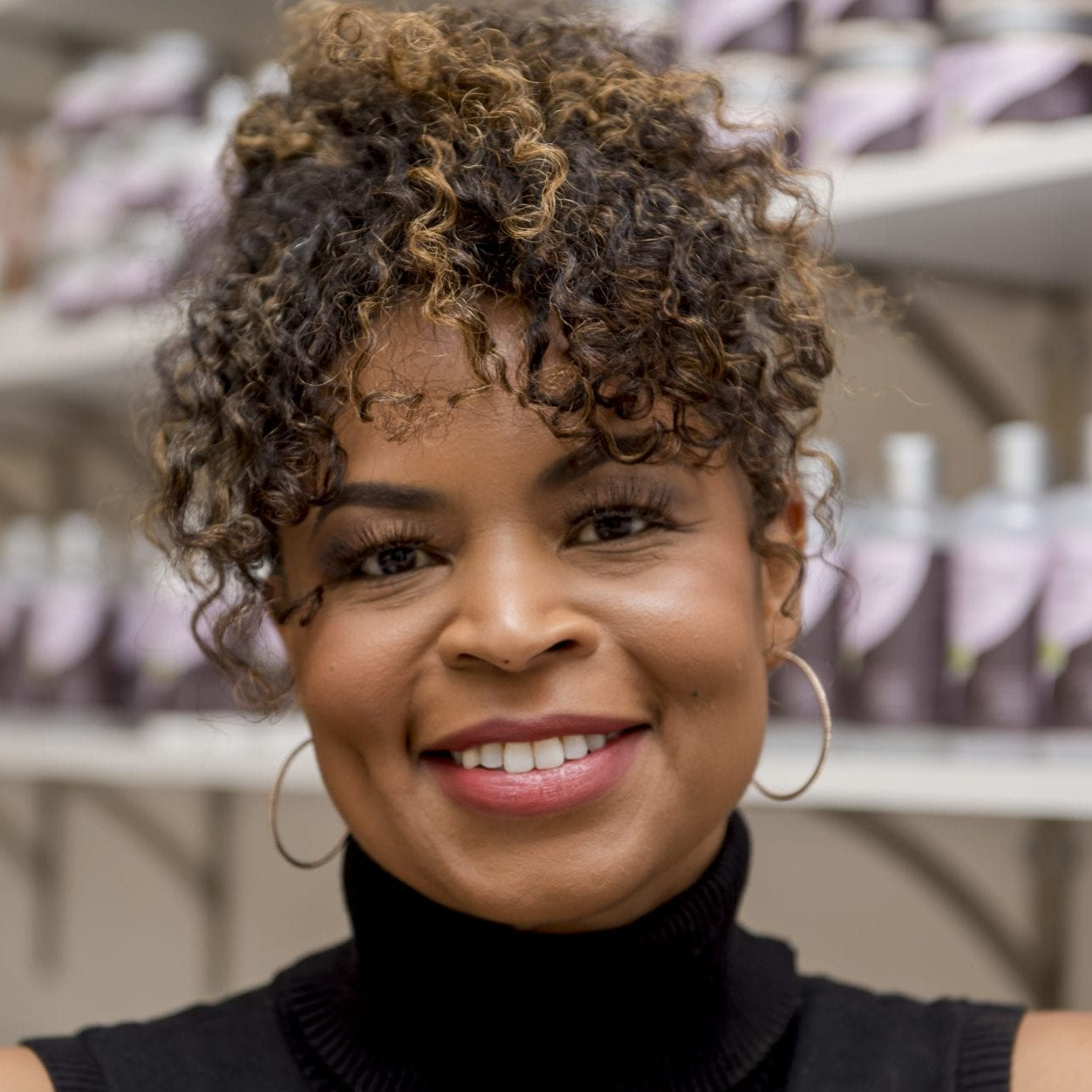 Jamellah Ellis, Curl Theory Owner
